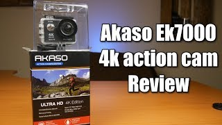 Akaso EK7000 4K action cam - Is a budget sport camera any good?