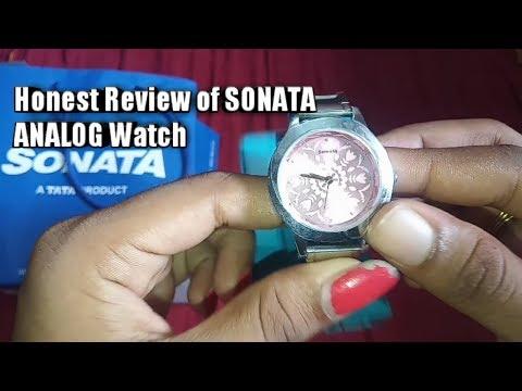 SONATA Honest Review Of Sonata Women's Watch || Analog Silver Dial Ladies Tamil
