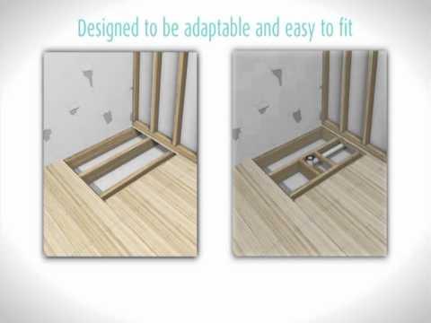 Kaskade Shower Base Installation Video