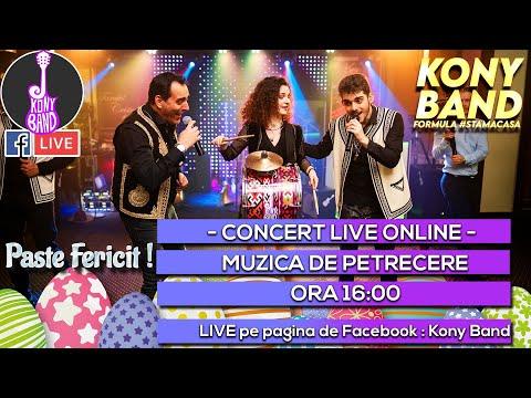 Colaj Muzica de Petrecere | Paste 2020 | Kony Band Formula#StamAcasa