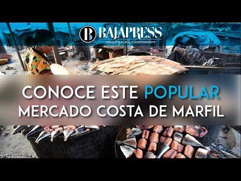 Conoce este popular mercado de pescado de Costa de Marfil