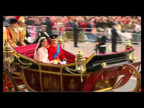 Prince William & Kate Middleton Getting Married And Going chariot Ride