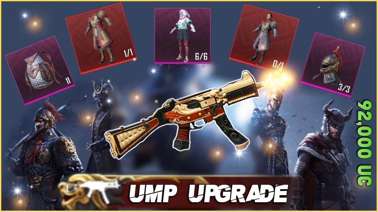 DRAGONFIRE UMP9 UPGRADE & LUCKY CRATES OPENING / MOON BUNNY / PUBG MOBILE / تطوير سلاح UMP