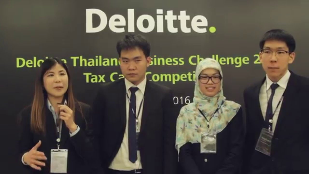Deloitte tax case study competition