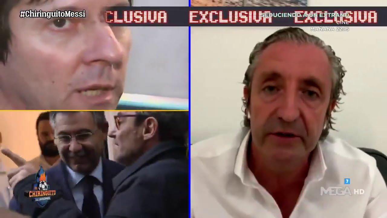 EXCLUSIVA de PEDREROL sobre la REUNIÓN BARTOMEU - Jorge MESSI