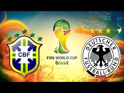 Brasil Vs Alemanha I SEMI FINAL COPA DO MUNDO I PES 2014