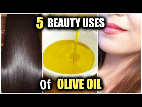 5 BEAUTY USES OF OLIVE OIL! │Healthy Long Thick Hair, Anti-Aging Soft Younger Skin and more!