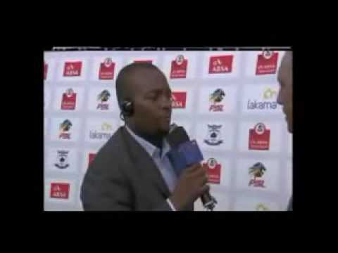 "Interview with Mamelodi Sundowns coach Hristo ""The Dagger"" Stoichkov"
