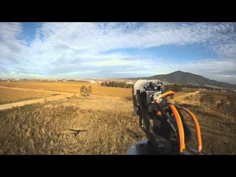 FPV SKYWALKER LOW FAST FLYING -TREES