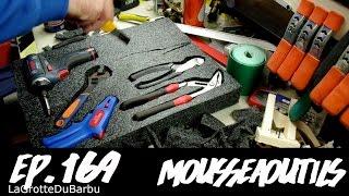 fabrication d'un rangement d'outils à base de mousse - Ep169 - MousseAOutils