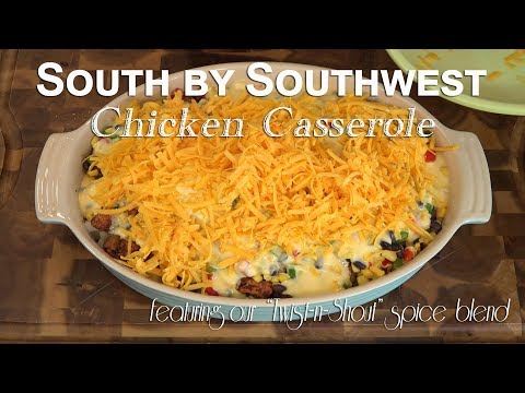 South by Southwest Chicken Casserole | Feat. Tango Spice Co.
