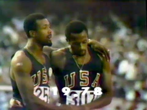 Tommie Smith - Men's 200m (WR) - 1968 Olympics