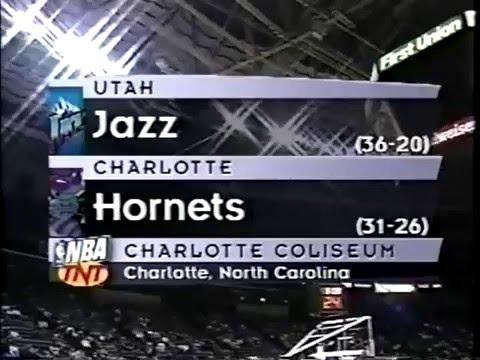 NBA ON TNT INTRO 2000 JAZZ VS HORNETS