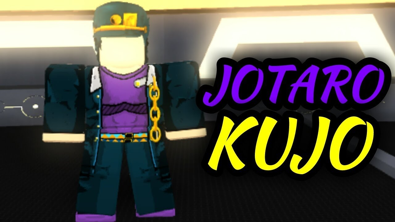 Jotaro Kujo Anime Cross 2 Roblox Youtube