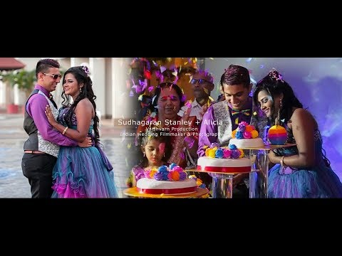Indian Wedding Filmmaker I Sudhagaran Stanley + Alicia I Vaishvarn Production