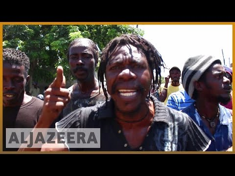 🇭🇹 Haiti protesters call for President Moise to step down | Al Jazeera English