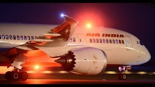 Boeing 787 Dreamliner-Air India Night Landing