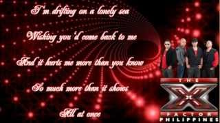 Daddys Home - All At Once [X Factor Philippines with Lyrics]