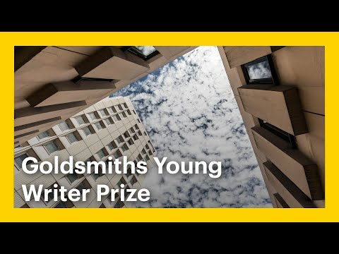 Goldsmiths Young Writer Prize Webinar with Dr. Jack Underwood