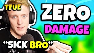 FaZe TFUE REACTS TO ZERO FALL DAMAGE GLITCH (fr) Fortnite Daily Funny Moments Ep.125