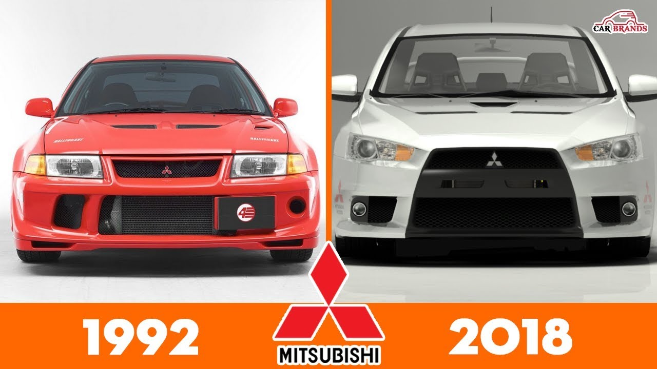 Evolution Of Mitsubishi Lancer Evo Cars Timeline Car Brands