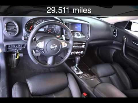 2013 Nissan Maxima 3.5 SV W/Premium Pkg Used Cars   McKinney,Texas    2015 04 10