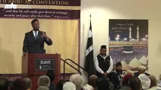 Khilafat VS Caliphate - Azhar Haneef - Jalsa Salana West Coast USA 2014