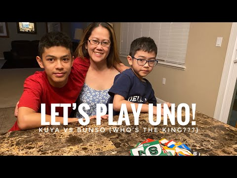 Family Game Night: Uno! Who is the King? |