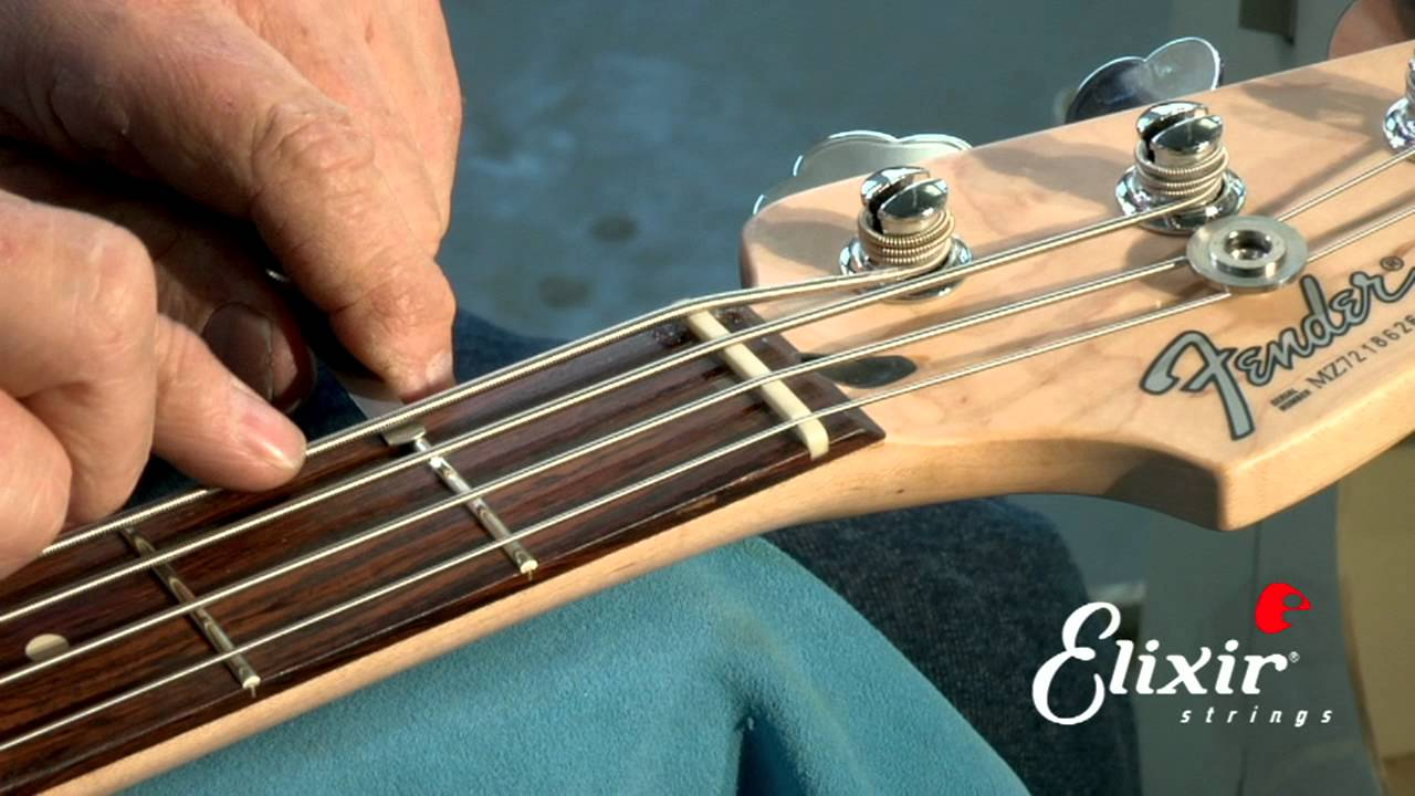Bass Guitar String Height Recommendations : setting up your bass guitar nut action height adjustment step 3 of 4 youtube ~ Hamham.info Haus und Dekorationen