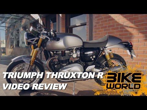 2016 Triumph Thruxton R Review Exclusive (First Ride)