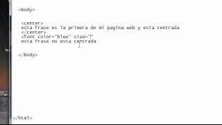 Turorial Html Español Incluye Material De Trabajo Parte 1