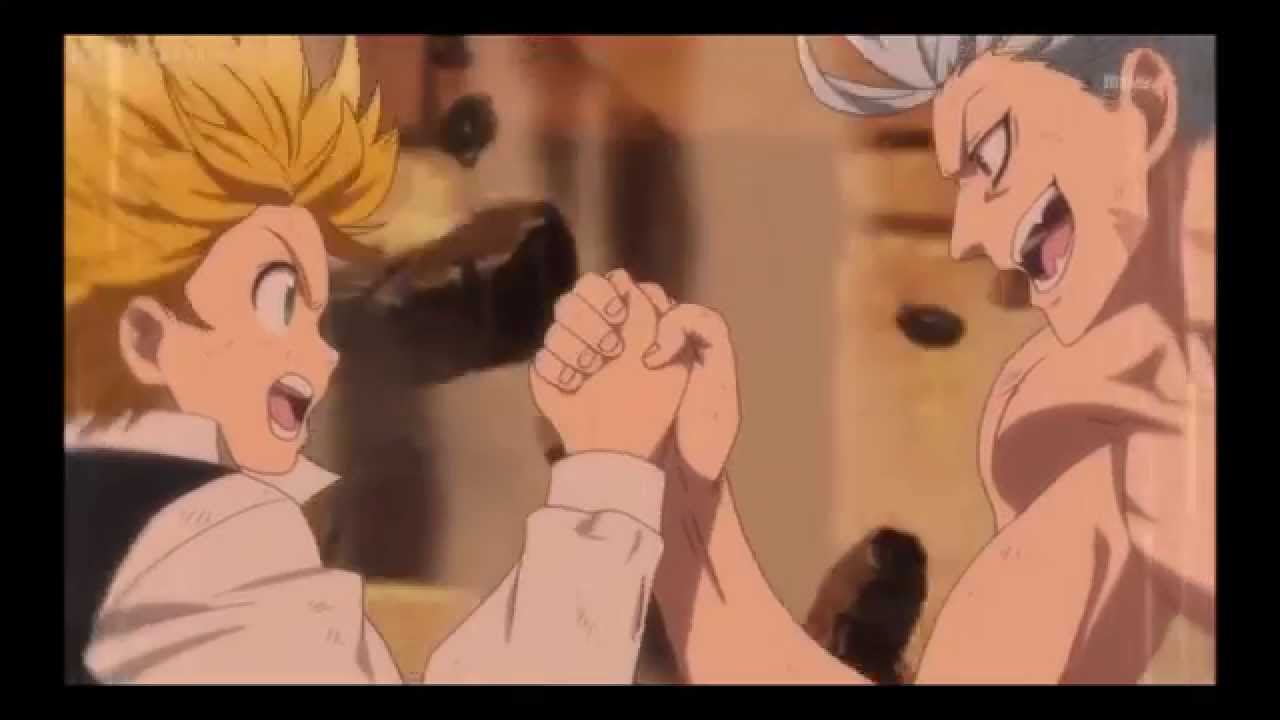 the seven deadly sins ban and meliodas meet browns