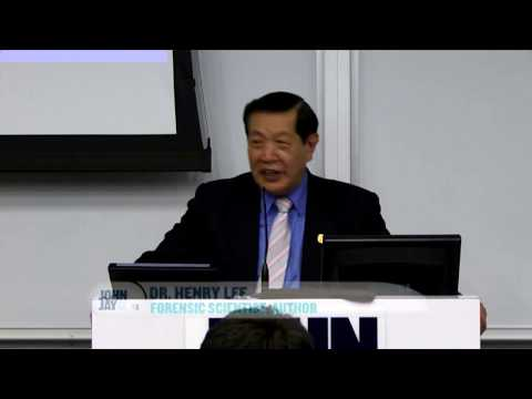 Watch  Dr. Henry Lee, Forensic Scientist Lecture at John Jay College of Criminal Justice