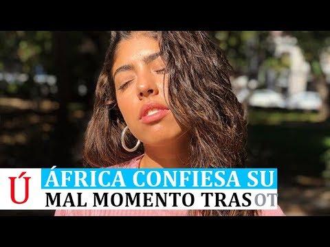 África confiesa el drama personal y familiar que atravesó al salir de Operación Triunfo 2018 El Pais