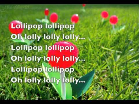 Lollipop by The Chordettes- Lyrics