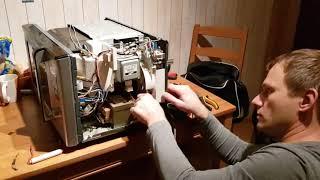ремонт свч Samsung, не греет