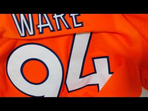 Denver Broncos #97 DeMarcus Ware Thin Hoodie review l Wear