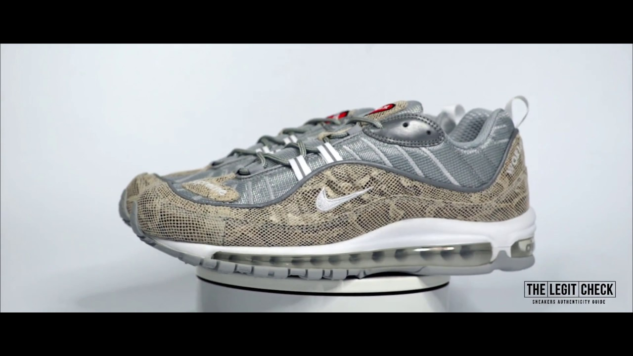 ... coupon for the legit check 18 nike x supreme air max 98 snakeskin 05b16  99200 9ec60426f