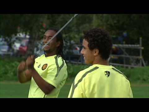 Man United Golf: O'Shea, Fletcher & Wes Brown vs Rafael + Fabio Da Silva & Anderson