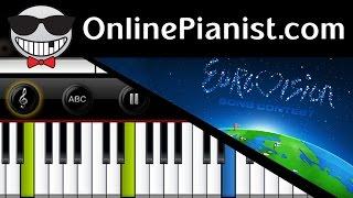 Eurovision Theme - Piano Tutorial & Sheets Easy (Charpentier - Te Deum Prelude)