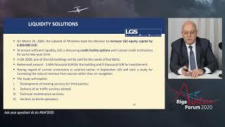 Davids Taurins I Riga Aviation Forum 2020 |10.09.2020