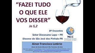Ainor Lotério na Abertura do Encontrão MCC Lapa PR
