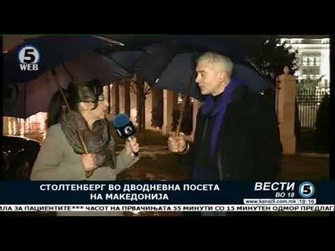 Каква порака праќа Столтенберг со неговата посета на Македонија?