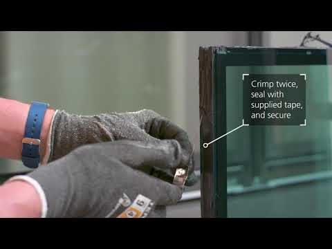 Europe – How to Crimp and Secure a Capillary Tube   Glazing Contractor Training