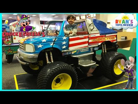 Thumbnail: Chuck E Cheese Family Fun Indoor Games and Activities for Kids Children Play Area Kids Video