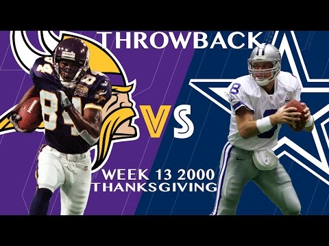 Vikings vs. Cowboys (Week 13, 2000) | Randy Moss Burns the Cowboys Part 2 | Classic Highlights | NFL
