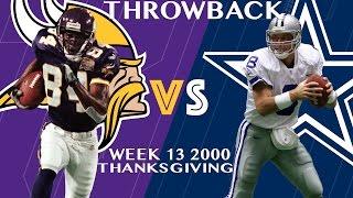 Vikings vs. Cowboys (Week 13, 2000) | Randy Moss Burns the Cowboys Part 2 | Classic Highlights | NFL