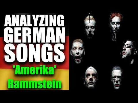 What Is  'AMERIKA' by RAMMSTEIN About?! 🔥 The Meaning Of German Songs & Lyrics!