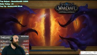 Horrific Vision of Orgrimmar: 5-Mask Full Clear (474 Fury Warrior) - WoW BFA 8.3 Visions of N'Zoth