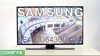Samsung UE40JU6430UXUA - телевизор, работающий на 4х ядерном процессоре - Видеодемонстрация от Comfy(Samsung UE40JU6430UXUA 40 дюймовый телевизор оснащен операционной системой Tizen. Samsung UE40JU6430 имеет большое разрешение..., 2015-07-27T14:30:43.000Z)